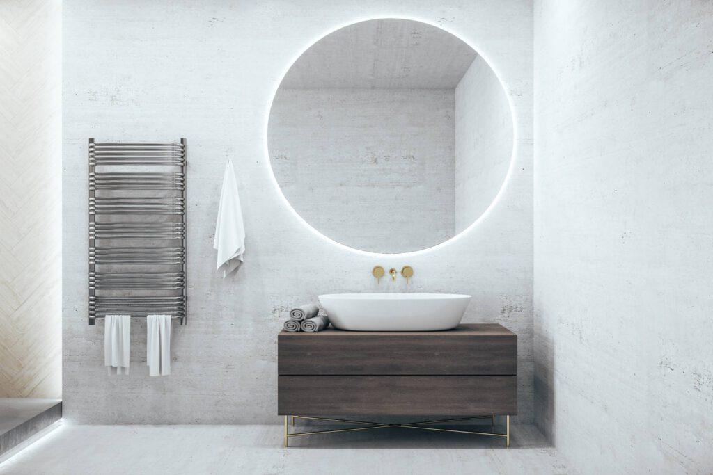 spiegelverwarming badkamer